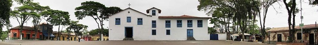 Igreja Jesuítica do Embu. Foto Victor Hugo Mori