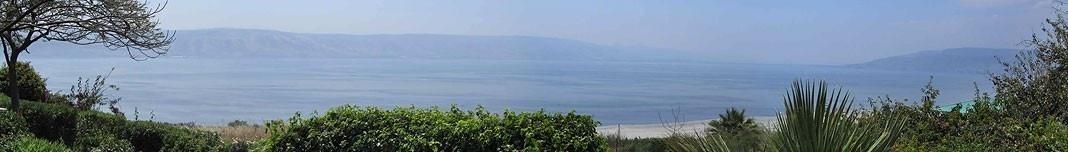 Mar da Galiléia, Israel. Foto Victor Hugo Mori