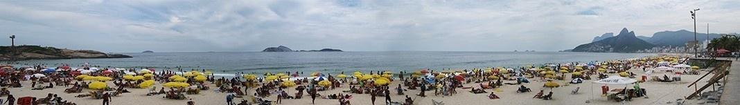 Praia do Arpoador, Rio de Janeiro. Foto Victor Hugo Mori