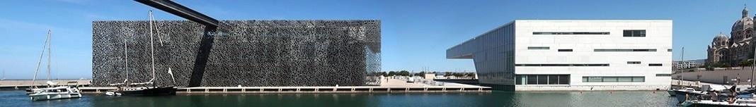 Museu das Civilizações da Europa e da Mediterraneidade, Marselha, França, arquitetos Rudy Ricciotti e Roland. Foto Victor Hugo Mori