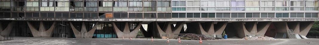 Conjunto residencial JK, Belo Horizonte, arquiteto Oscar Niemeyer. Foto Victor Hugo Mori