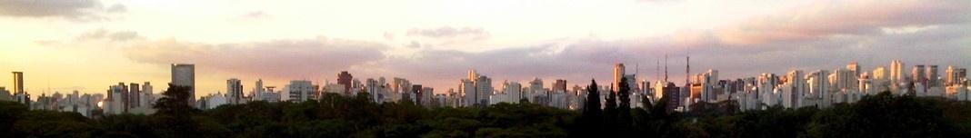 Vista panorâmica de São Paulo. Foto Abilio Guerra