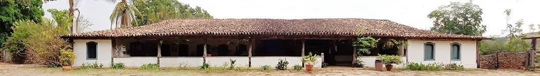 Fazenda Babilônia em Goiás, antigo Engenho São Joaquim, final do século 18. Foto Victor Hugo Mori