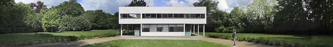Villa Savoye, Poissy, França, arquiteto Le Corbusier. Foto Victor Hugo Mori