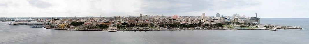 Habana Vieja, do Porto até a Fortaleza de San Salvador de La Punta. Foto Victor Hugo Mori
