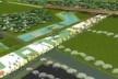 Vista aérea da área que concentra as intervenções      <br />Imagem dos autores do projeto