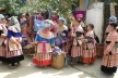 Bac Ha, o colorido das mulheres na feira semanal <br />Foto Lucia Maria Borges de Oliveira