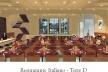 Restaurante Italiano. Torre D<br />Imagem do autor do projeto