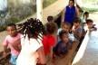 Children in public school and teacher<br />Foto Fabio Lima