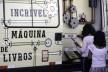 """Van """"Máquina de livros"""" faz troca de livros no Museu da República, em Brasília<br />Fabio Rodrigues Pozzebom  [Agência Brasil]"""