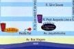 Figura 10 – Peça promocional de edifícios no bairro Setúbal. Edifício Castelo Cheverny e Edifício Castelo de Blois, detalhe da publicidade, com a localização do empreendimento. JPM Construções [ADEMI Imóveis, edição 16, agosto, 2004, ADEMI-PE]
