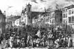 A Rua Direita (1835)<br />Litografia J. M. Rugendas