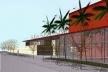 11. Centro de Artes Corpo, vista do acesso, Nova Lima, MG 2001 (39)<br />Edson Mahfuz e equipe  [Edson Mahfuz]