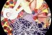 Frank Stella, Medalhão, concurso, Mosaico Mármore/Vidro