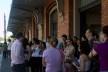 Grupo na Estação da Luz<br />Foto Silvana Romano
