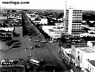 Avenida Brasil no início da década de 1960. Inicia-se a verticalização em Maringá [maringa.com (2006)]