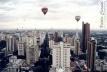 Atual verticalização no centro de Maringá. Forte atuação da incorporação imobiliária [Carniel (2006)]