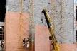 Painéis tipo Stud frame com plaquetas cerâmicas incorporadas, Faculdade de Odontologia Ulbra