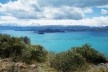 De Puerto Rio Tranquillo e a bifurcação Cochrane – Chile Chico, Lago General Carrera<br />Foto Diana Souza
