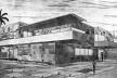 Figura 32 – Projeto de uma Residência na Lagoa, Rio de Janeiro. Arquiteto Alexandre Altberg, 1934 [Fonte: BARDI, Pietro Maria. Op. cit.]