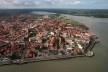 Centro histórico de São Luís MA, vista aérea<br />Foto divulgação  [Wikimedia Commons]