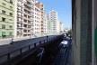 Minhocão sem carros em um domingo, visto do apartamento da Associação Parque Minhocão<br />Foto Renato Anelli