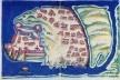 """""""Dio"""", ilustração (realizada por Pedro Barreto de Resende) existente no Livro das Plantas de todas as Fortalezas[…] (1635) de António Bocarro [""""Livro das Plantas de todas as Fortalezas[…]"""" (fac-simile com estudo de Isabel Cid)]"""