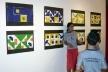 Crianças apresentando os próprios trabalhos<br />Foto Ana Frade