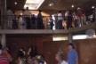Cootrapar – cooperativa de trabajadores de aceros del Paraguay. Usos del edificio: foyer. Arq. Luis Alberto Elgue y Arq. Cynthia Solis Patri. Villa Hayes, Paraguay. 2007 – 2008.