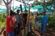 Taipa de pilão em execução<br />Foto Gabriel Cunha