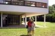 Mauricio Azenha e esposa em Ville Savoyer <br />Foto Maurício Azenha