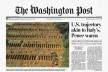 Mortos por covid-19 não são fake news, são verdade! Covas abertas em cemitério de São Paulo para atender a demanda da pandemia de coronavírus viram manchete em jornal norte-americano<br />Imagem divulgação  [Folha de S.Paulo, 22/04/2020]