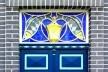 Detalhe de porta no centro histórico da cidade de Lüneburg, Alemanha<br />Foto Henriette Perbeils