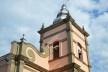 Igreja Matriz de Nossa Senhora da Conceição, no centro urbano de Matias Barbosa MG, protegida por tombamento pelo município<br />Foto Fábio Lima