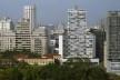 Edifício Eiffel, São Paulo, arquiteto Oscar Niemeyer<br />Foto Nelson Kon
