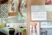 Moodboard, processo criativo desenvolvido para projeto de interiores [Acervo da autora]
