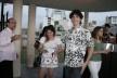 Daniel Vanegas, Helena Romano Guerra, Caio Romano Guerra e Claudia Levy<br />Foto Thomas Bussius