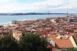 Vista de Lisboa, a partir do Castelo de São Jorge<br />Foto Renato Sérgio Alves