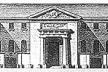 Figura 10 – Elevação, Hospital St. Jacques du Haut Pas (C.-F. Viel, 1780) [THOMPSON, J. D. & GOLDIN, G.. The hospital: a social and architectural history. New Haven:]
