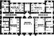 Figura 11 – Planta segundo pavimento, Rotunda Hospital (1757) [THOMPSON, J. D. & GOLDIN, G.. The hospital: a social and architectural history. New Haven:]
