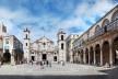 Plaza de la Catedral de San Cristóbal, Habana Vieja, Cuba <br />Foto Victor Hugo Mori
