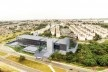 Sesc Limeira, vista aérea, 2017. Arquitetos Alvaro Puntoni, João Sodré, José Paulo Gouvêa e Pedro Mendes da Rocha / Grupo SP + JPG.ARQ + Pedro Mendes da Rocha