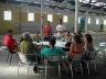 Reunião de estudantes, profissionais e coordenadores do programa