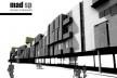 Perspectiva – vista posterior. Concurso Habitação para Todos.CDHU. Edifícios de 4 pavimentos- 2º lugar.<br />Autores do projeto  [equipe premiada]