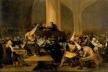 O tribunal de inquisição. Franscisco de Goya y Lucientes, 1816.Academia Real de San Fernando, Madri