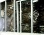 Camadas constituintes das paredes externas da Fundação Iberê Camargo - Porto Alegre (Álvaro Siza, 1998)<br />Foto Danilo Matoso Macedo
