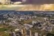 Vista aérea da cidade de Brasília<br />Jornal de Brasília