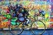 Grafitti em São Paulo, de Mundano<br />Foto divulgação