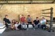 Grupo de alunos na manhã do encerramento do workshop<br />Foto divulgação