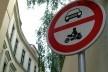 Placa em Praga, República Tcheca<br />Foto Laura Gorski